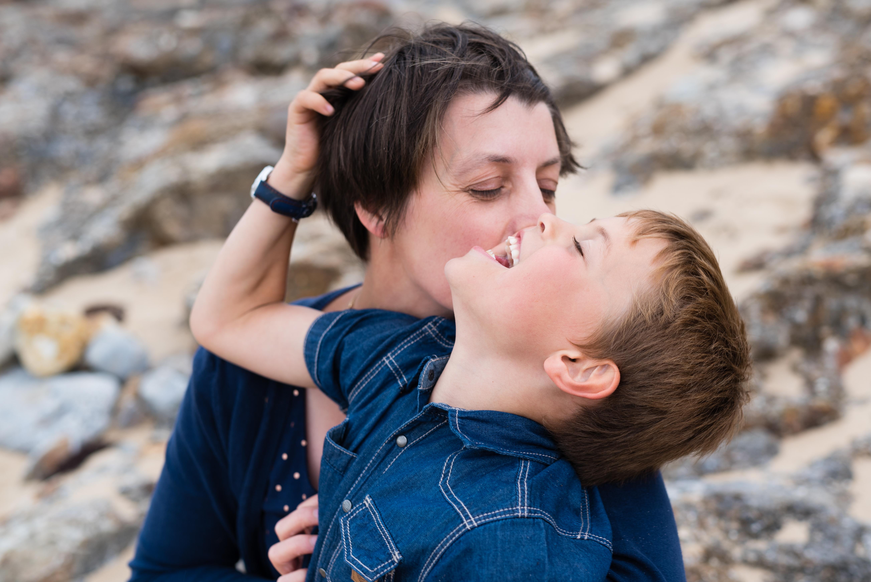 SEANCE FAMILLE - JARD SUR MER - PLAGE